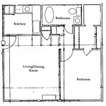 One Bedroom | One Bathroom 529 sq. ft. $ Call For Pricing